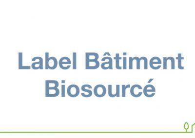 Biosourcé niveau 1